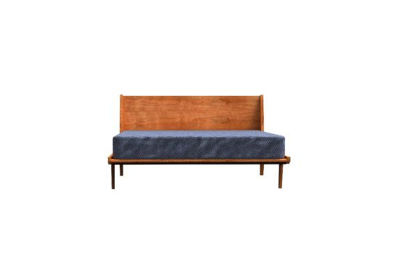 Best Mid Century Modern Platform Bed Twin Size By 400 x 300