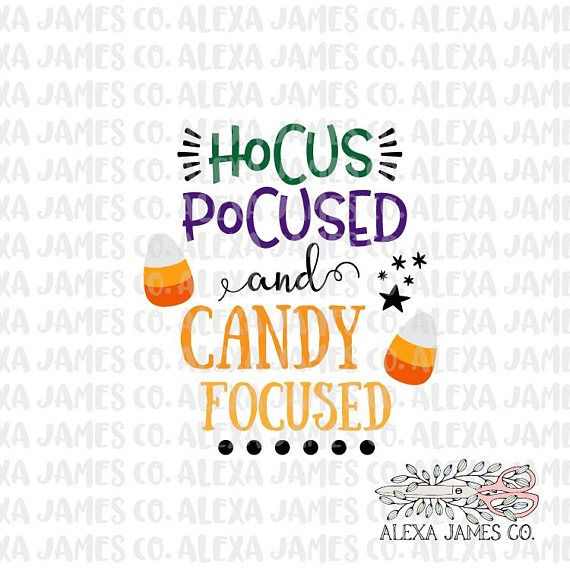 Hocus Pocus SVG Happy Halloween SVG Halloween Candy Svg