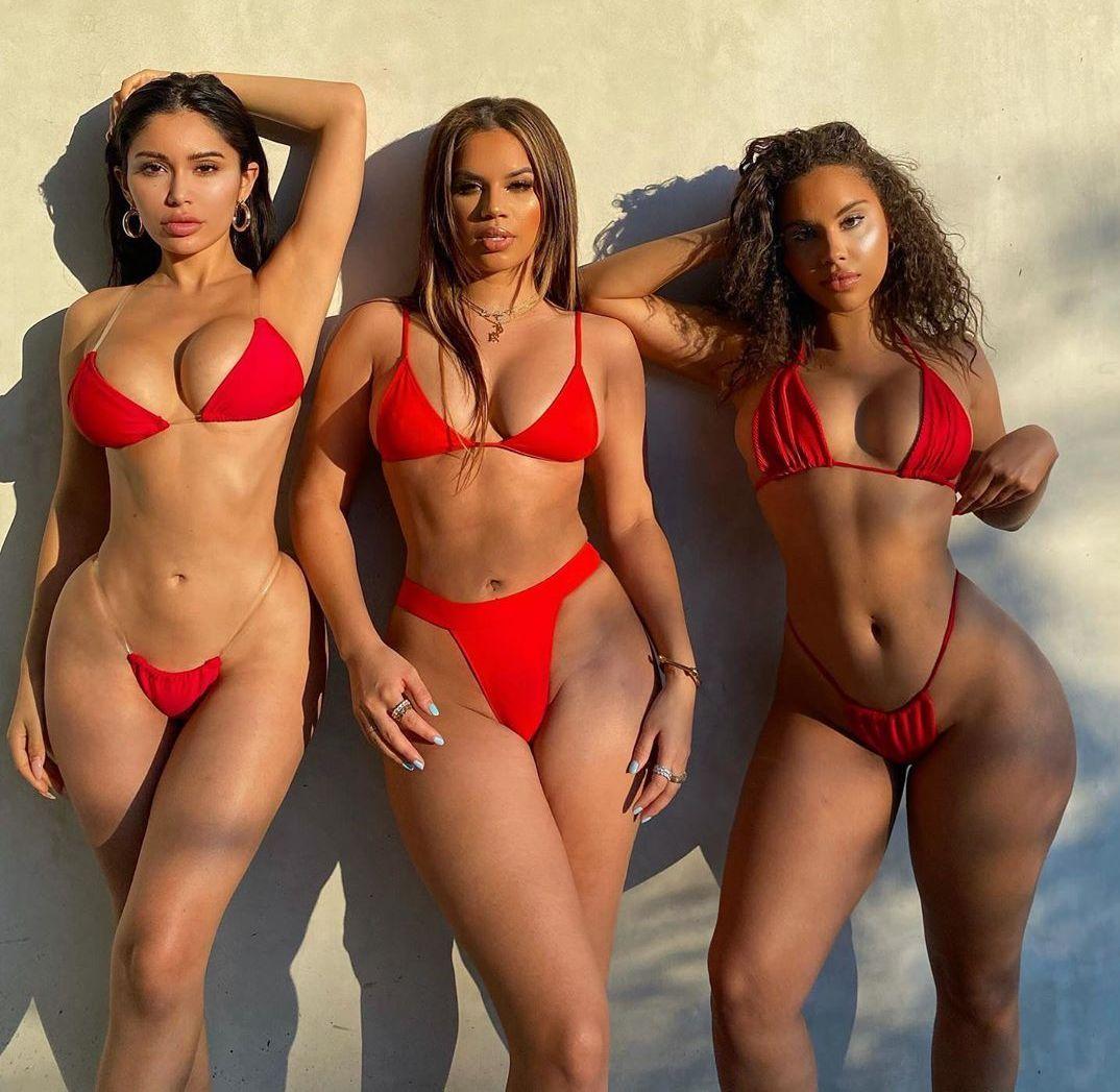 Sexy Curvy Latina Teens