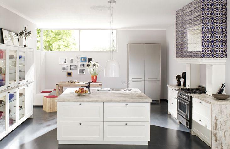 Küche mit Insel | Küchen mit Kochinsel | Pinterest | Küche mit insel ...