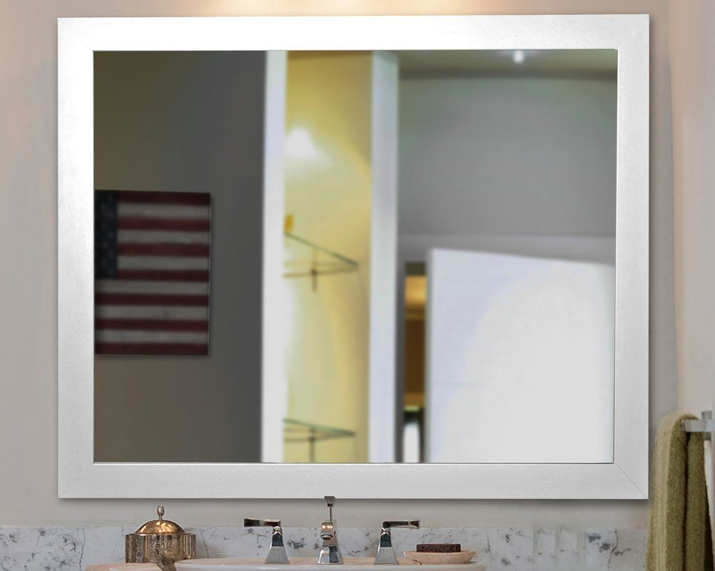 American made black satin wide wall mirror mjk pinterest american made black satin wide wall mirror amipublicfo Images