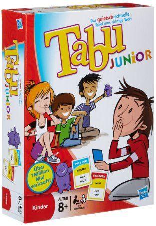 Hasbro 14334100 Tabu Junior - Edition 4 - 2011
