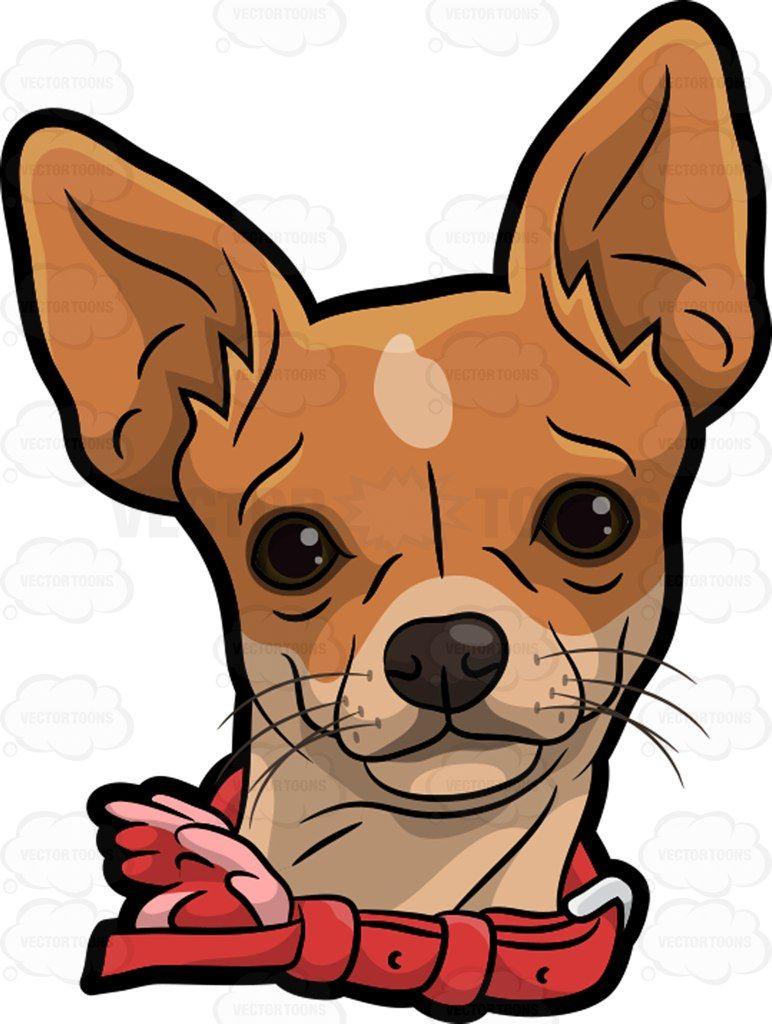 A Head Of A Chihuahua Chihuahua Drawing Chihuahua Art Dog Paintings [ 1024 x 772 Pixel ]