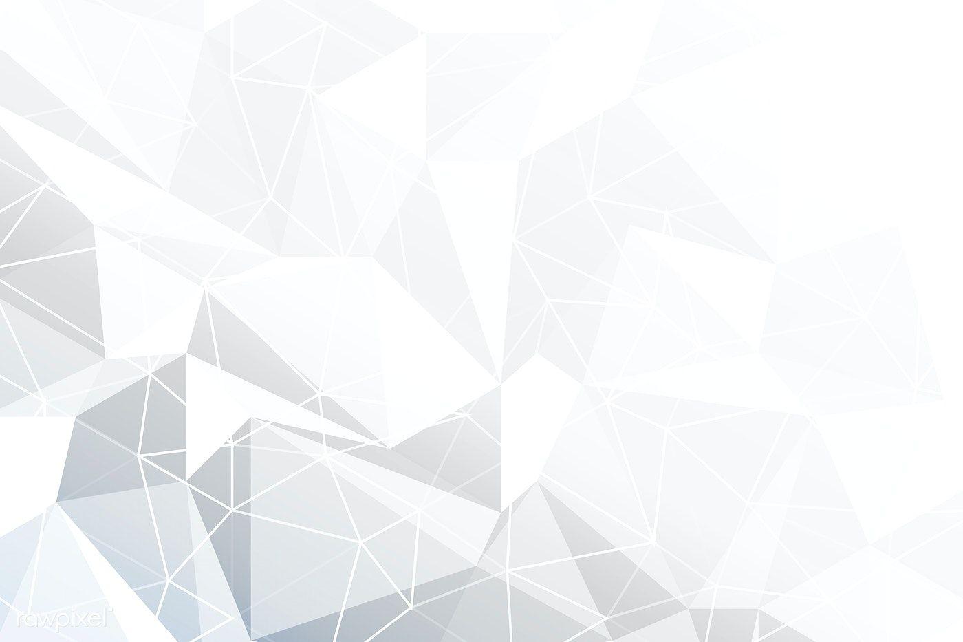 Download Premium Vector Of Gray Geometric Background Vector 2337677 Geometric Background Backdrops Backgrounds Geometric