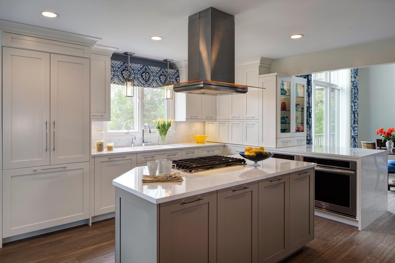 Taupe Küchenschränke Küche beige, Küchendesign, Küche taupe