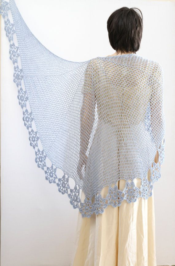 Wedding Shawl Crochet Shawl Wrap Shawls Crochet Shawl Pattern