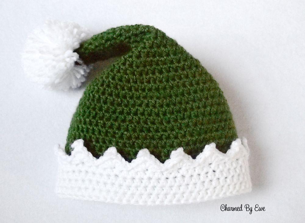 Free Elf Hat Crochet Pattern, X-mas, Christmas, #haken, gratis ...