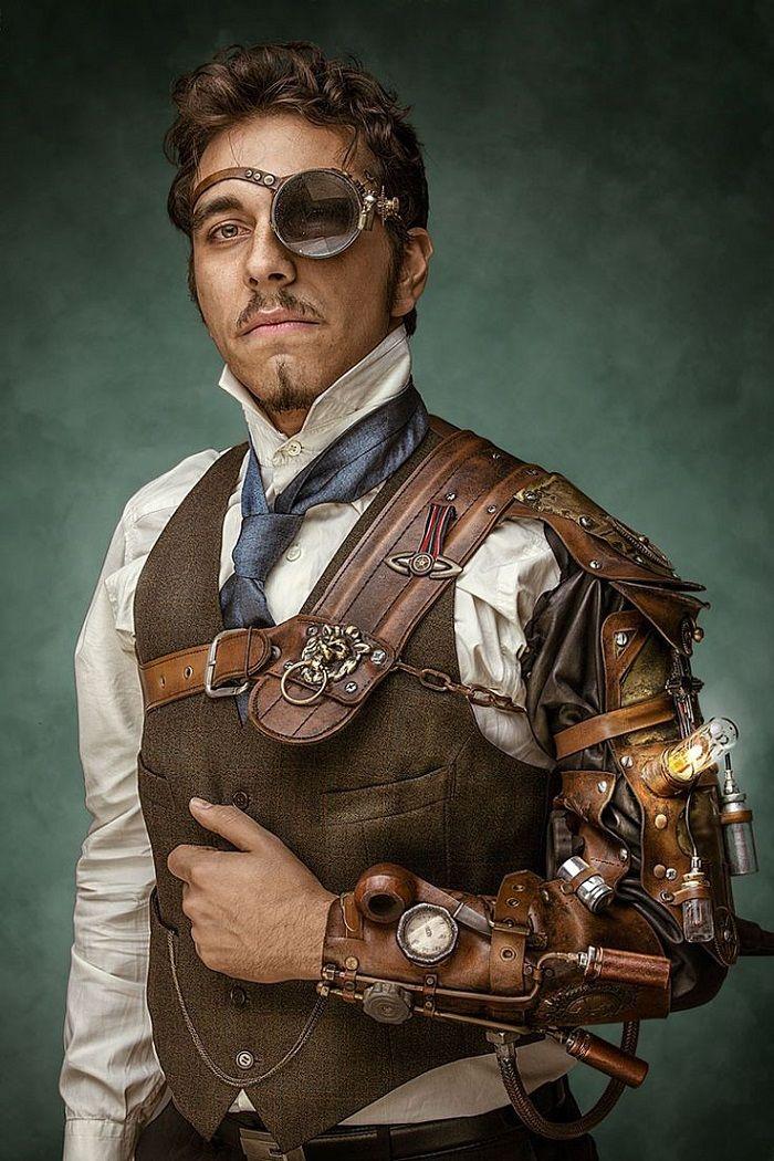 Steampunk ropa de moda impresionante - La historia de este estilo -