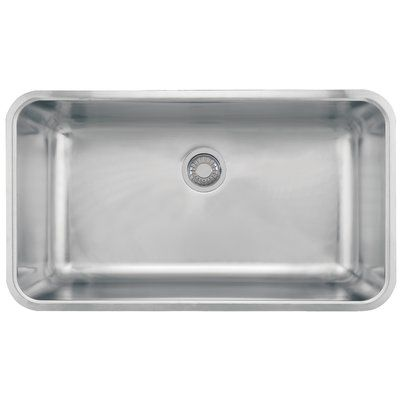 Franke Grande 33 L X 19 W Undermount Kitchen Sink Sink Single
