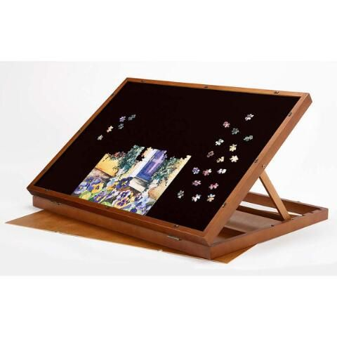Puzzle Magic Tabletop Puzzleboard Accessory In 2020 Puzzle Basteln