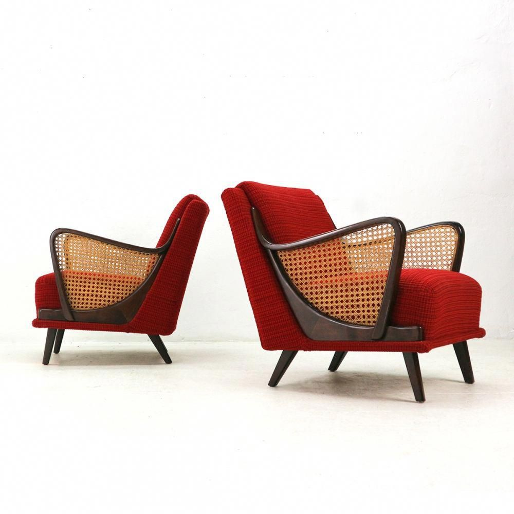 Pair of '50s Streamline Design Armchairs #armchairs ...