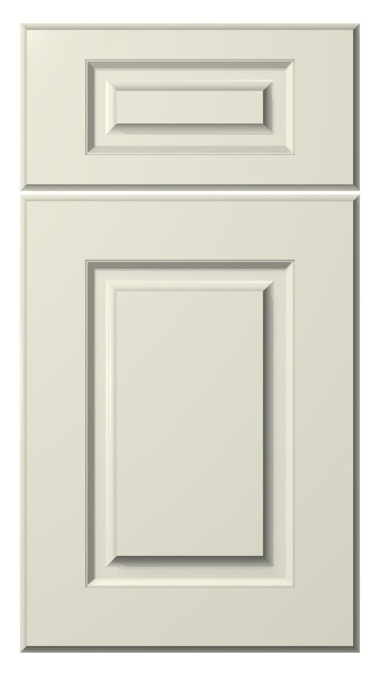 Whistler Door Style Painted Antique White Kitchen Cabinets