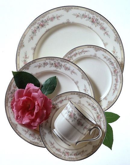 noritake china shenandoah pattern - my china pattern when I got married in 1988