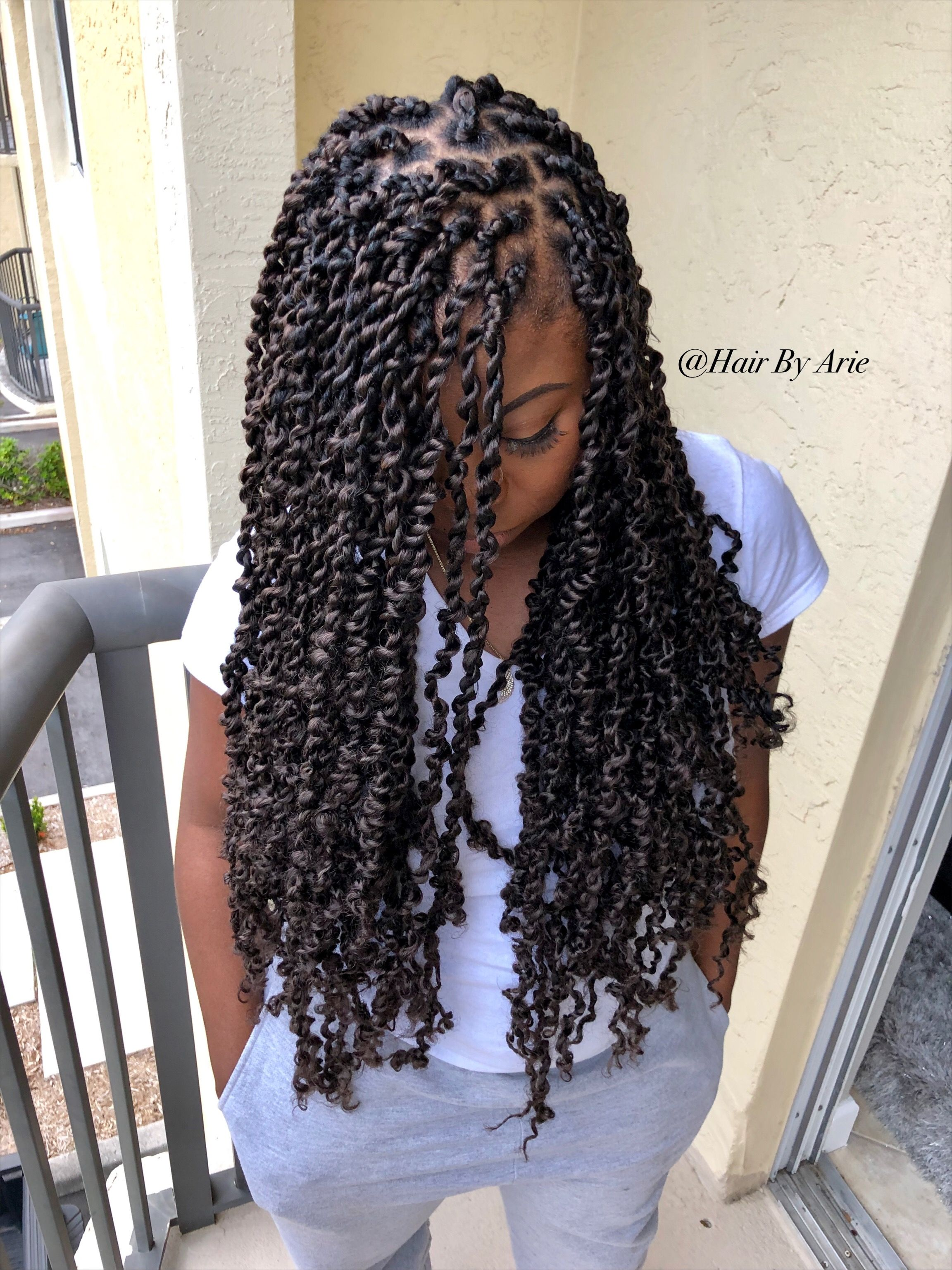 Passion Twists Hair By Arie Hair By Arie Natural Hair Styles Hair Styles Twist Hairstyles