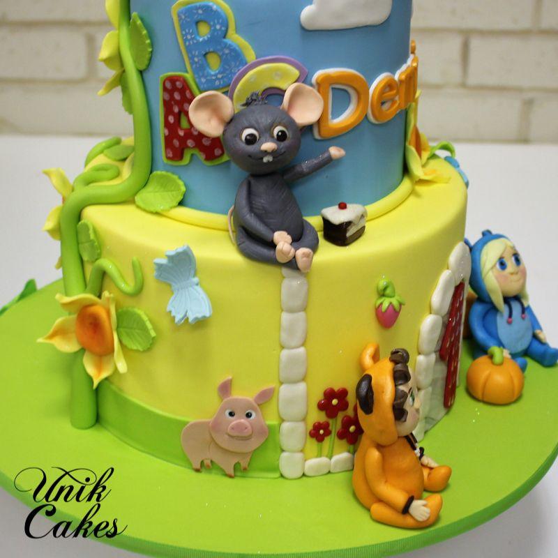 Dave and Ava Nursery Rhymes Cake Cupcake Mistress PH Pinterest