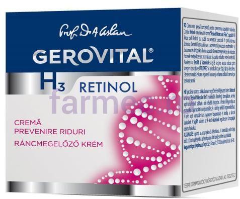 Beauty Ideas - Bun si ieftin - Gerovital H3 cu retinol