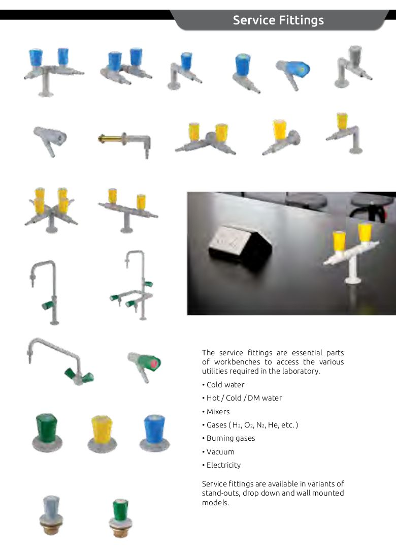 The Complete TOF Laboratory Fittings and SafetyShower