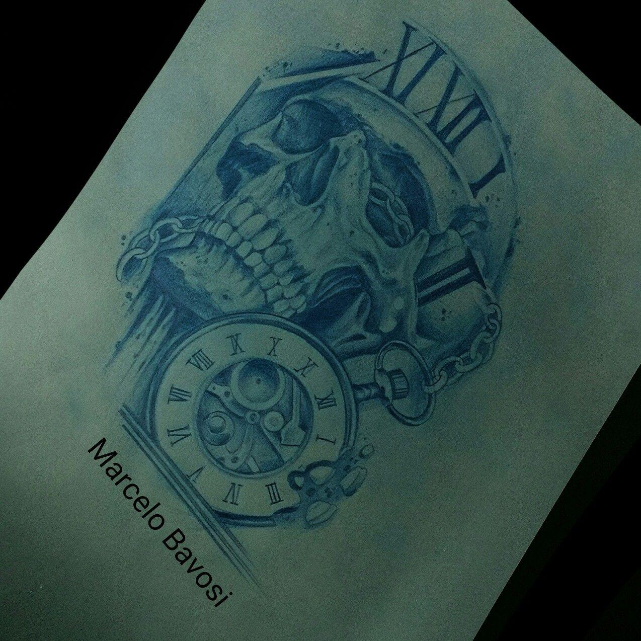 Caveira tattoo