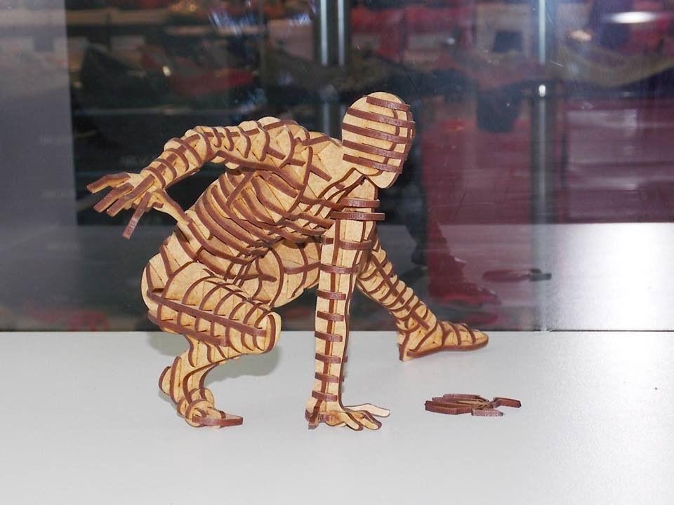 Spiderman 3D Puzzle Free Vector cdr Download   laser cnc