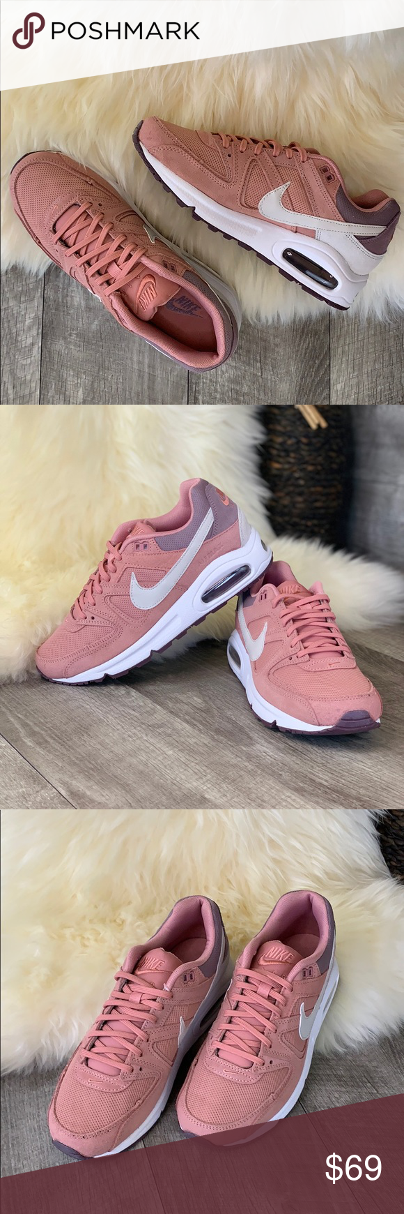 Nike Air Max Command Red StardustLight bone s 8 New with