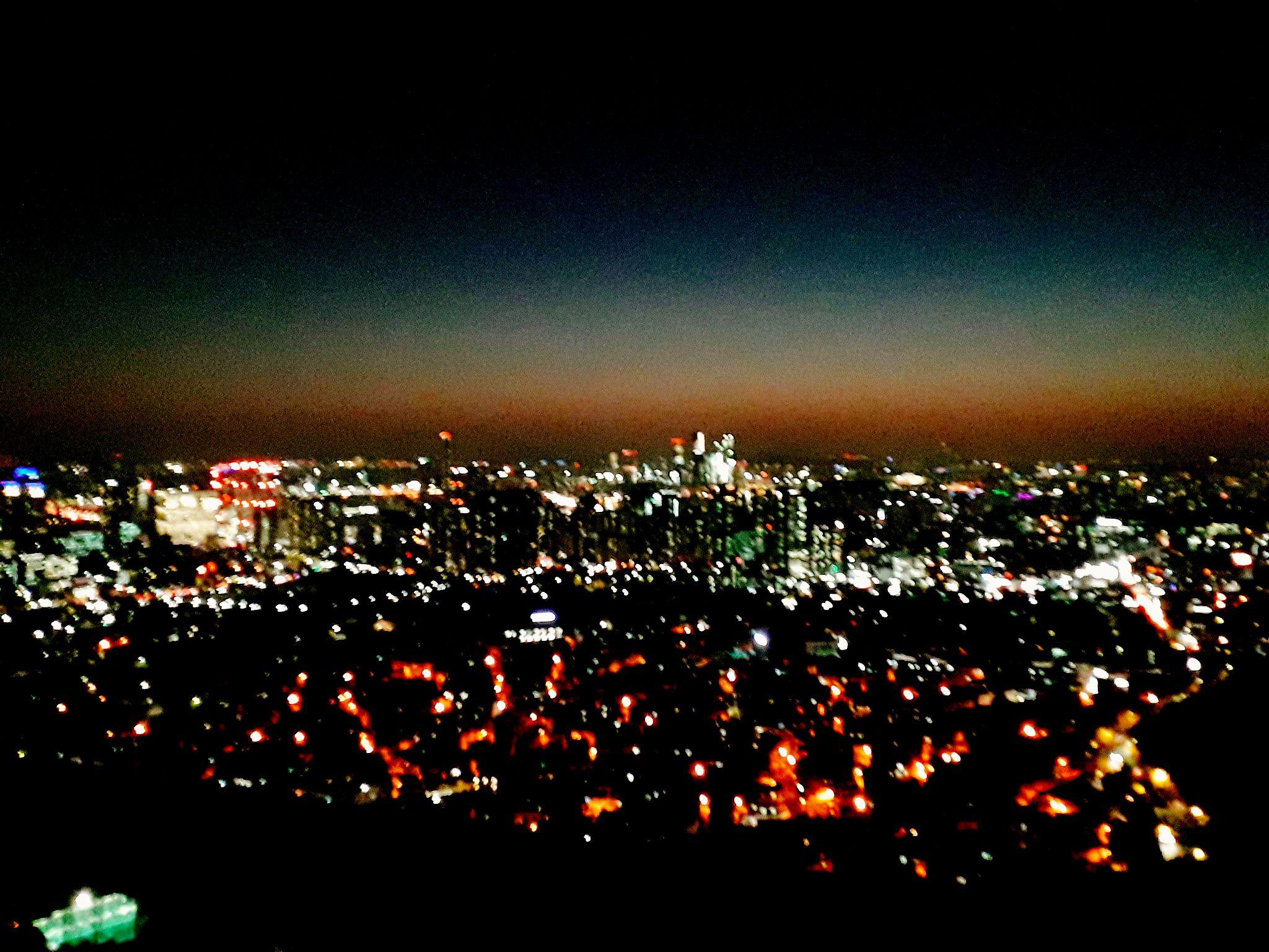 서울 저녁 놀 'ê²½ Seoul Scenery Nighttime Pemandangan Malam