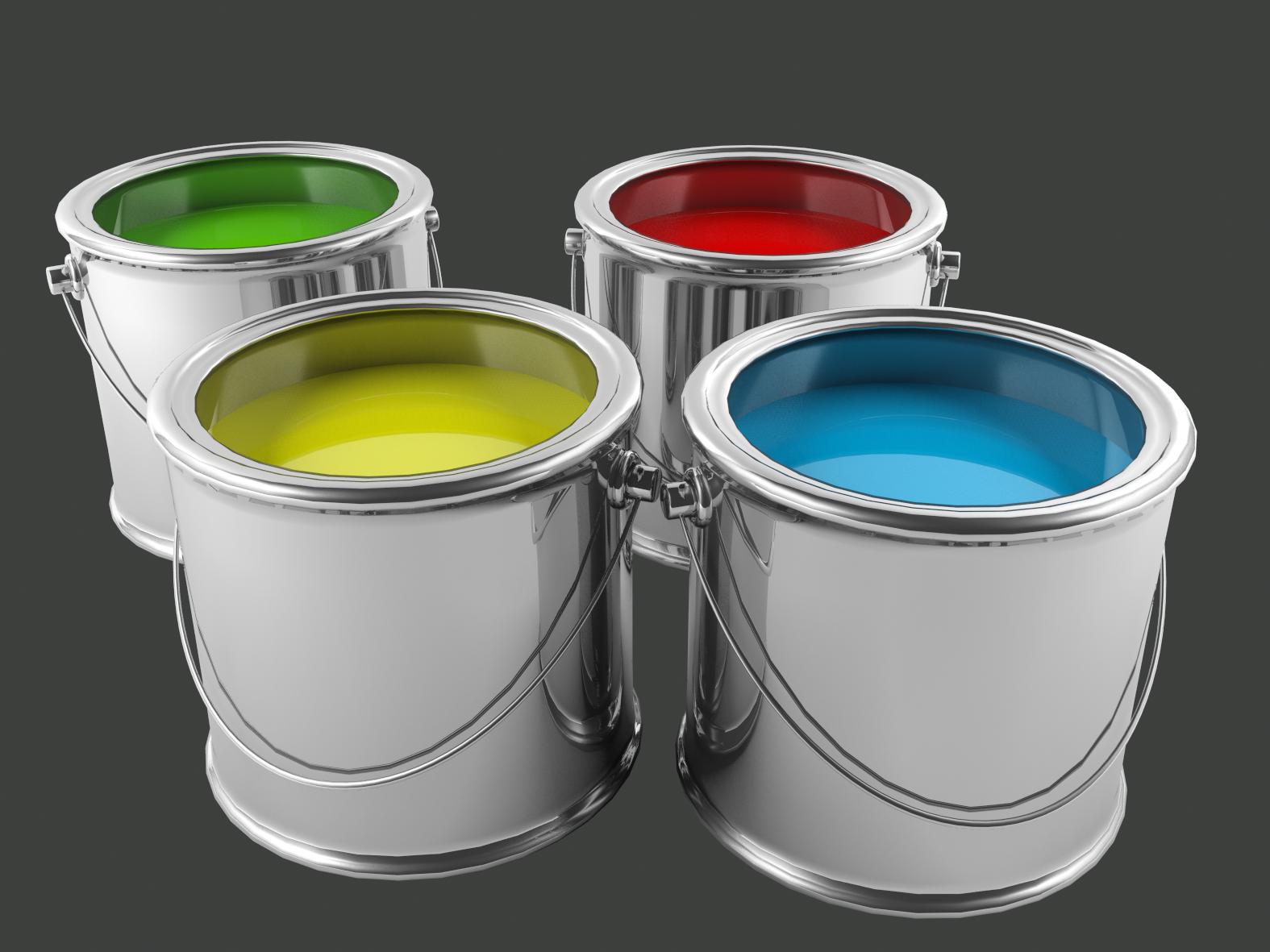 3d max, paint bucket