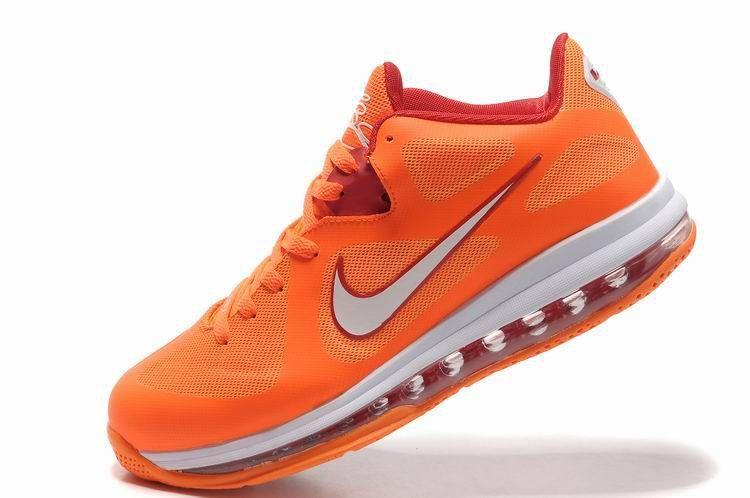 timeless design 9ebdd b3cc4 Nike Lebron 9 Low Floridians Vivid Orange Cherry 510811-800 .