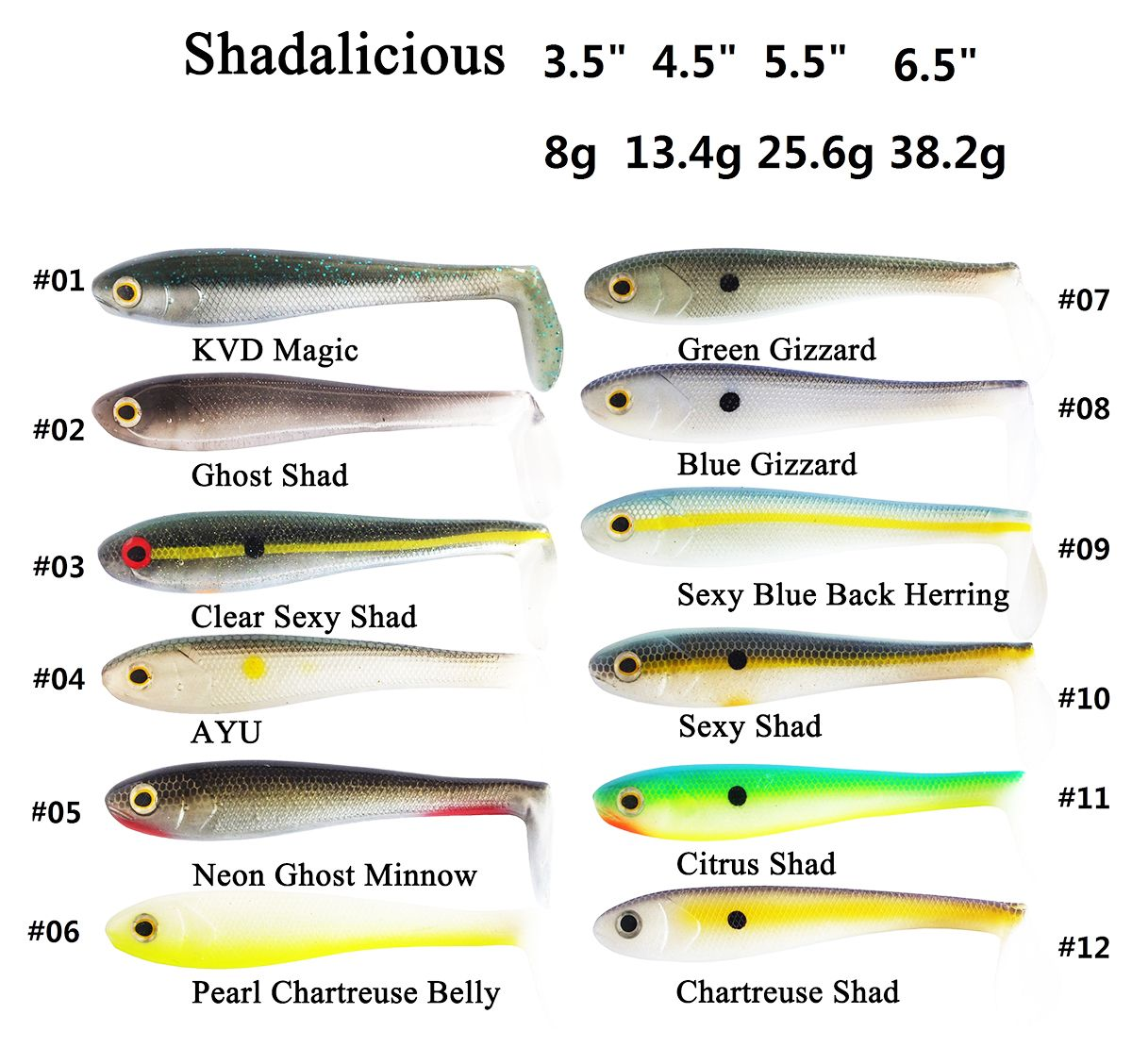 Shadalicious Powerbait Hollow Belly Swimbait In 2020 Belly Soft Lure Soft Plastic