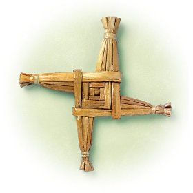 The Legend of the St. Brigid's Cross