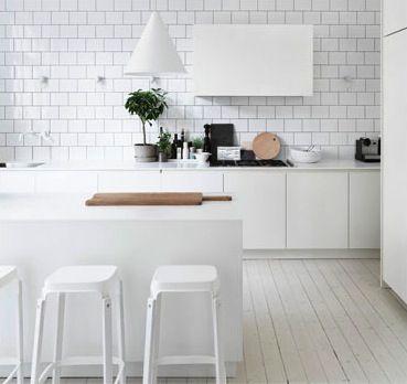 DIY Cupcake Holders Cocinas, Azulejos blancos y Ideas cocinas