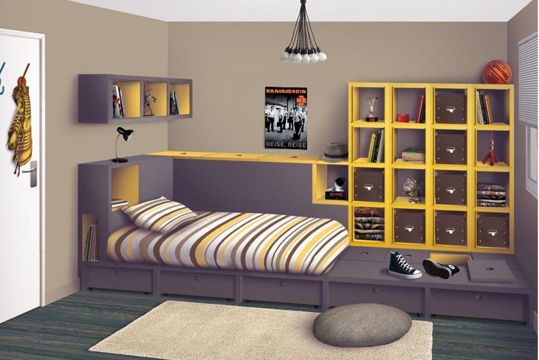 Ikea Chambre Ado Garcon  Chambre garcon ans decoration deco ado  chambre  Deco chambre ados