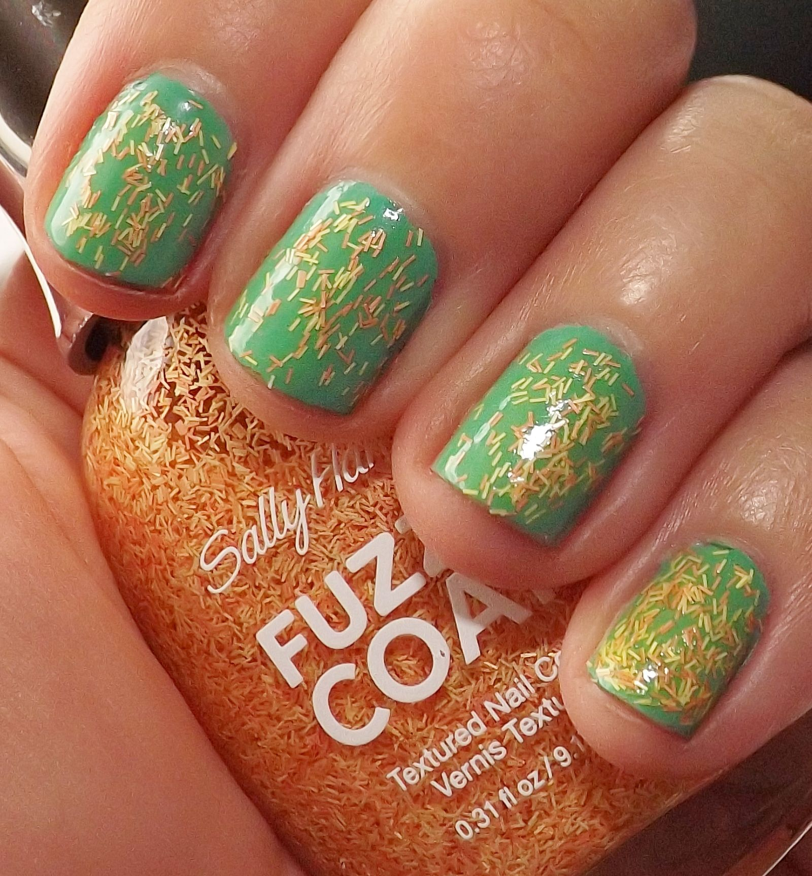 Sally Hansen Fuzzy Coat in Peach Fuzz Review | NaeSays | Pinterest ...