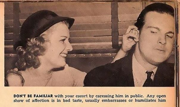 50s dating advice