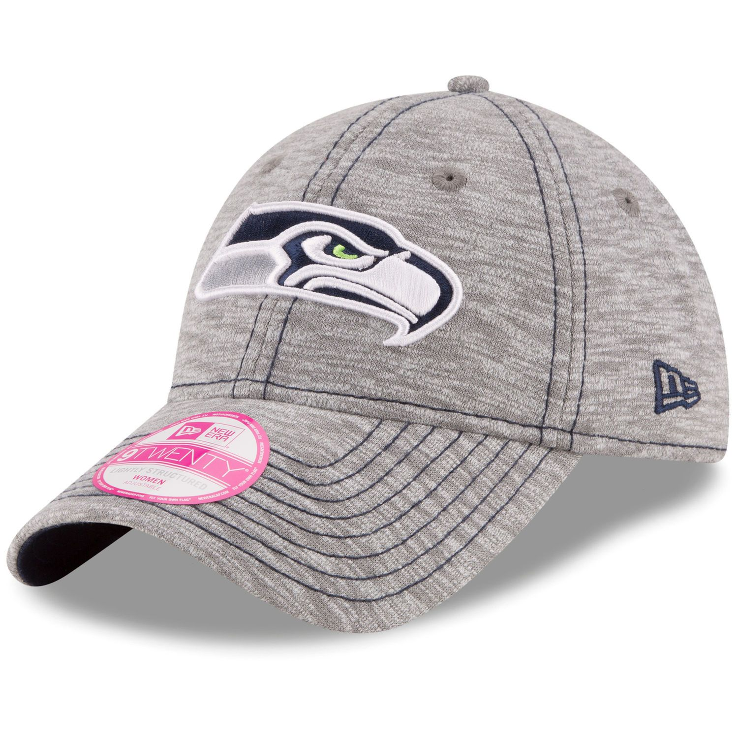 super popular efff7 b4bc0 ... get womens seattle seahawks new era gray team mist 9twenty adjustable  hat seahawks seattle and seattle