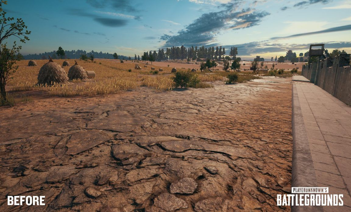 See the new tessellation tech in PlayerUnknown's Battlegrounds
