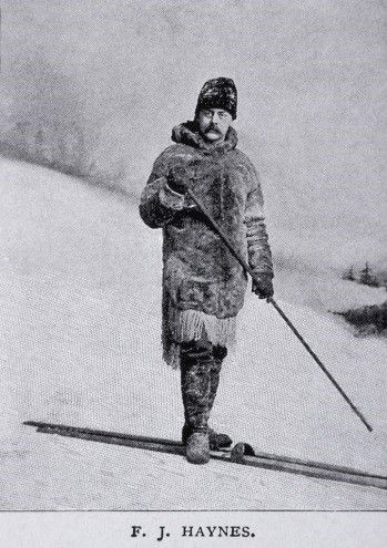Yellowstone's First Winter Photographer | Winter photos ... First Photographs Of Yellowstone