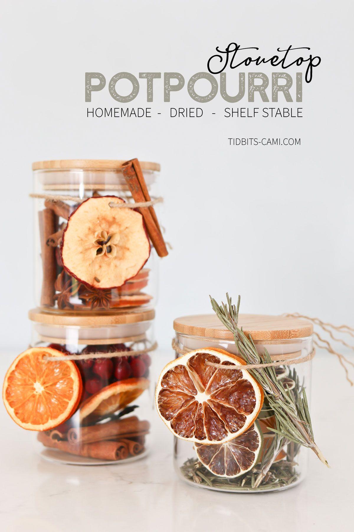 Homemade Dry Holiday Potpourri - Tidbits