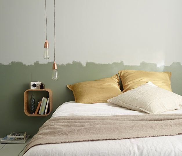 et un style deco moderne dans la chambre avec ce duo de couleurs zen http www castorama fr store pages zoom sur nature interieur peinture html