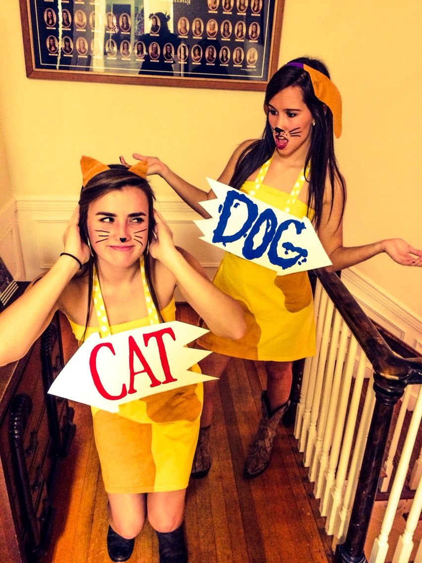 CatDog Halloween costume!   Cute ideas!   Pinterest ...