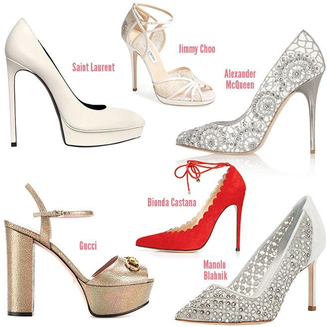 Best Designer Wedding Shoes 2013
