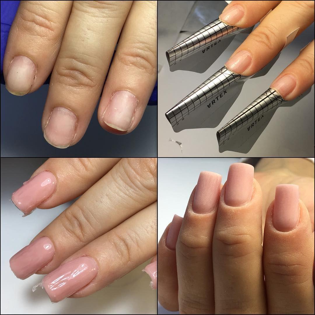 Наращивание ногтей 4 размер Tmnlady
