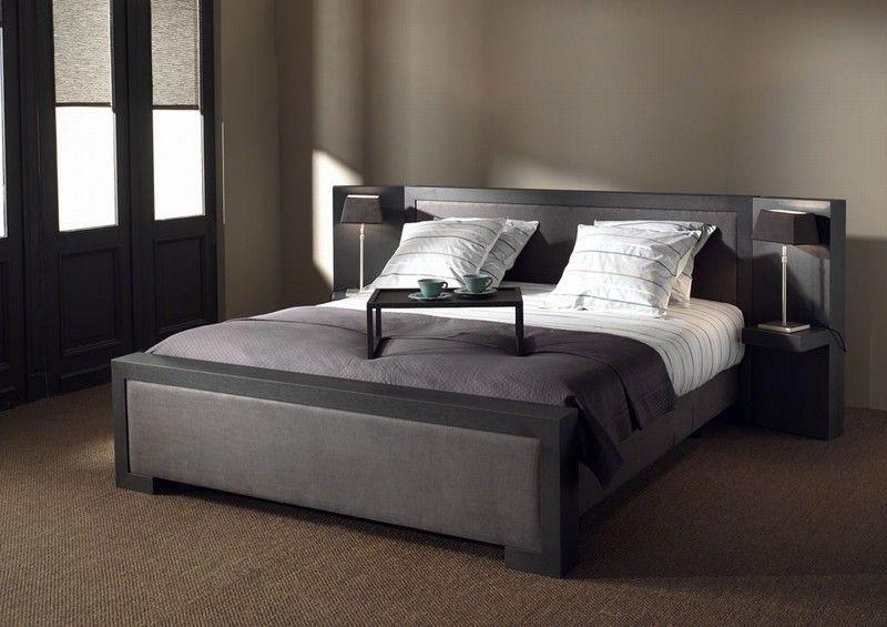 Lit en wengé - Scapa Home - 13 Interior - Waterloo - Belgium  #bedroom #bed #chambreàcoucher #lit #sleep