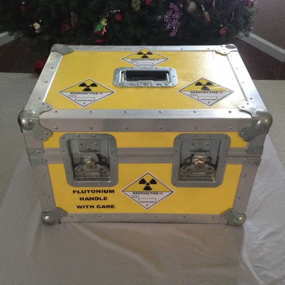 quality design 29054 bfd46 ... rare back to the future plutonium case box movie prop replica from  299.0 - So könnte ...