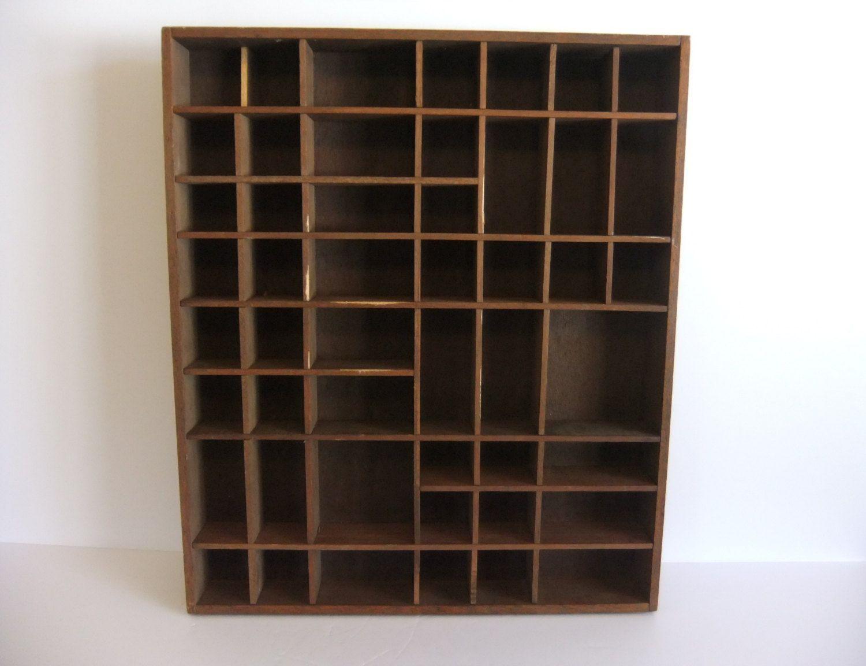 Shelf Vintage Wooden Knick Knack Shelf