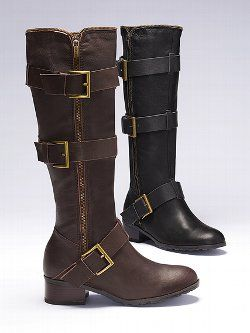 d3baf879740 Colin Stuart® Leather Riding Boot from Victoria s Secret.