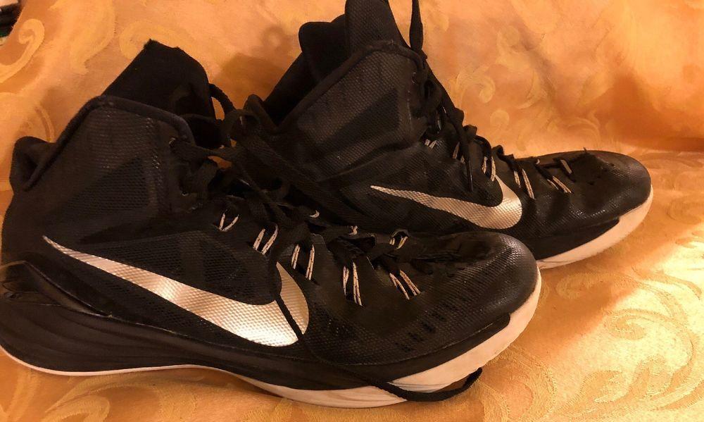 b952c04776e4 ... spain nike hyperdunk basketball shoe mens size 12 black metal fashion  clothing shoes accessories mensshoes athleticshoes