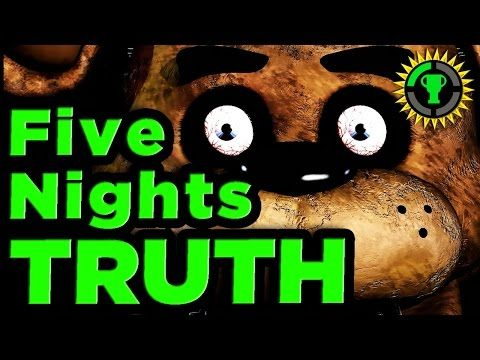 game theory five nights at freddy s scariest monster is you