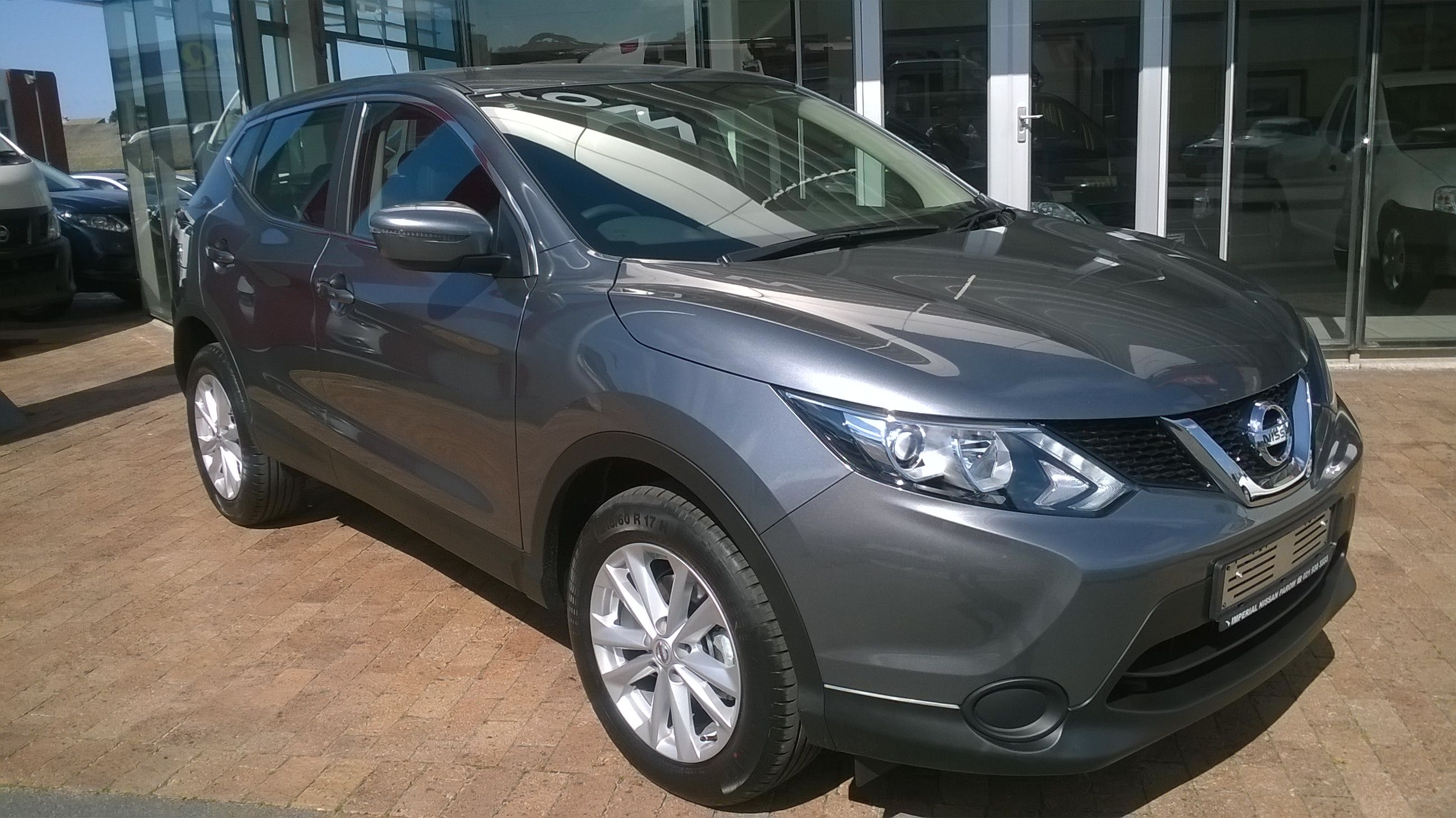 new nissan qashqai. for the best deals on nissan's, call dennis on