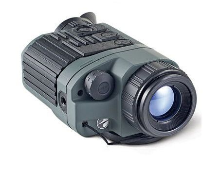 """Thermal Imaging Monocular - Specially designed for nighttime use as well as daytime use in inclement weather, the Thermal Imaging Monocular is able to """"see through"""" rain, snow, fog, smoke, and vegetation, and it will work between -4° F and 122° F and up to 90% humidity, making it a tool under all circumstances. 