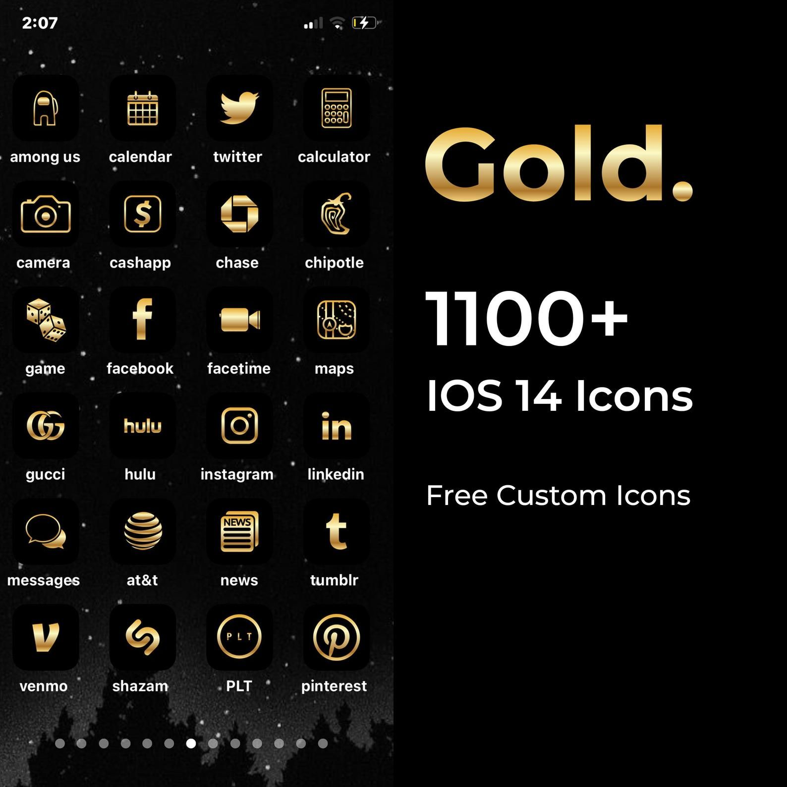 5000 Gold Iphone Ios 14 App Icons Pack Gold Icon Aesthetic Black Background Social Media Phone Ios14 Personalised Home Screen Widget App Icon Gold Iphone Gold App